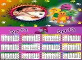 Barney Calendário 2013