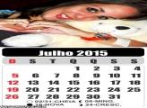 Calendário Julho 2015