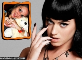 Cantora Katy Perry FotoMoldura