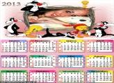 Calendário Piu Piu Frajola 2013