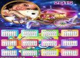 Calendário 2015 Carruagem