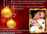 Moldura Feliz Natal Evangélico