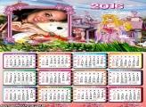 Calendário de Menina Princesa 2016