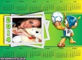 Calendário 2014 Mascote Fuleco