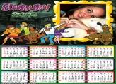 Calendário Scooby Doo 2016 Desenho