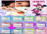 Calendário Minnie Madame 2014