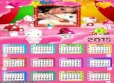 Calendário 2015 Hello Kitty Baby