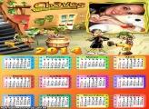 Calendário 2014 Chaves e Kiko
