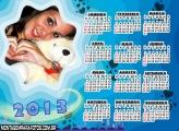Calendário Paixão Azul 2013