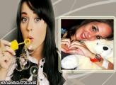 Moldura da Katy Perry Brincando