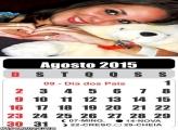 Calendário Agosto 2015
