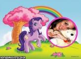 Moldura My Litter Pony Lilás