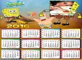 Calendário do Bob Esponja e Patric Estrela 2016