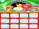 Calendário 2018 Desenho Moranguinho
