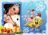 Natal Patrick e Bob Esponja