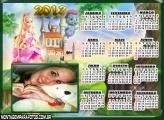 Calendário Barbie Castelo 2013