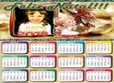 Calendário 2018 Natal Infantil