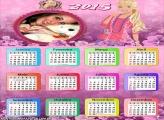 Calendário 2015 Barbie Teen