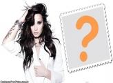 Demi Lovato FotoMoldura