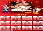Calendário Mickey e Minie Festa