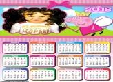 Calendário 2018 Peppa Pig Fada