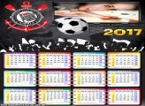 Calendário 2017 do Corinthians Timão