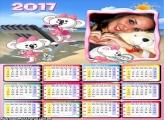 Calendário 2017 Lilica na Praia