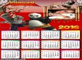 Calendário Kung Fu Panda 2016