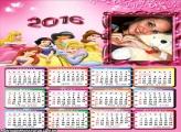 Calendário Todas Princesas 2016