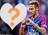 Neymar Coração FotoMoldura