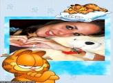 Moldura Garfield Dorminhoco
