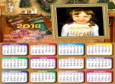 Calendário 2018 Mensagem Natalina