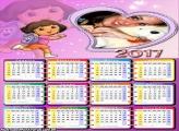 Calendário 2017 da Dora