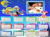 Calendário 2015 Lua Disney
