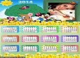 Calendário Escolar Mickey 2014