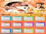 Calendário 2015 Princesinha