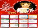 Calendário 2018 Especial de Natal