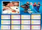 Calendário 2017 Frozen Personagens
