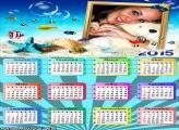 Calendário 2015 Peixes no Mar