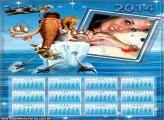 Calendário 2014 Era do Gelo