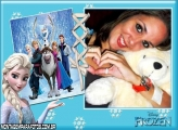 Frozen Personagens Moldura