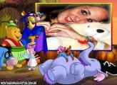 Moldura Fantasias Urso Pooh