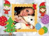 Moldura Gnominho Baby Natal