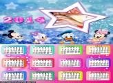 Calendário 2014 Bebês Disney