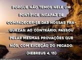 Hebreus 4:15
