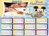 Calendário 2017 Aniversários 1 Ano