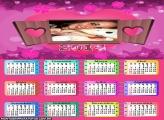 Calendário Janela do Amor 2014