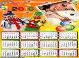 Calendário 2016 do Patati Patatá