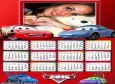 Calendário Cars 2016 Desenho