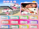 Calendário 2014 Lilica Ripilica